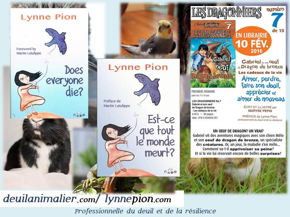 Deuil animalier  Lynne Pion janvier 2016 partie du webinaire